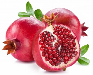 whole-and-cut-pomegranate